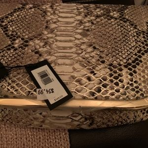 NWT~ Banana Republic~ Snake Print Clutch
